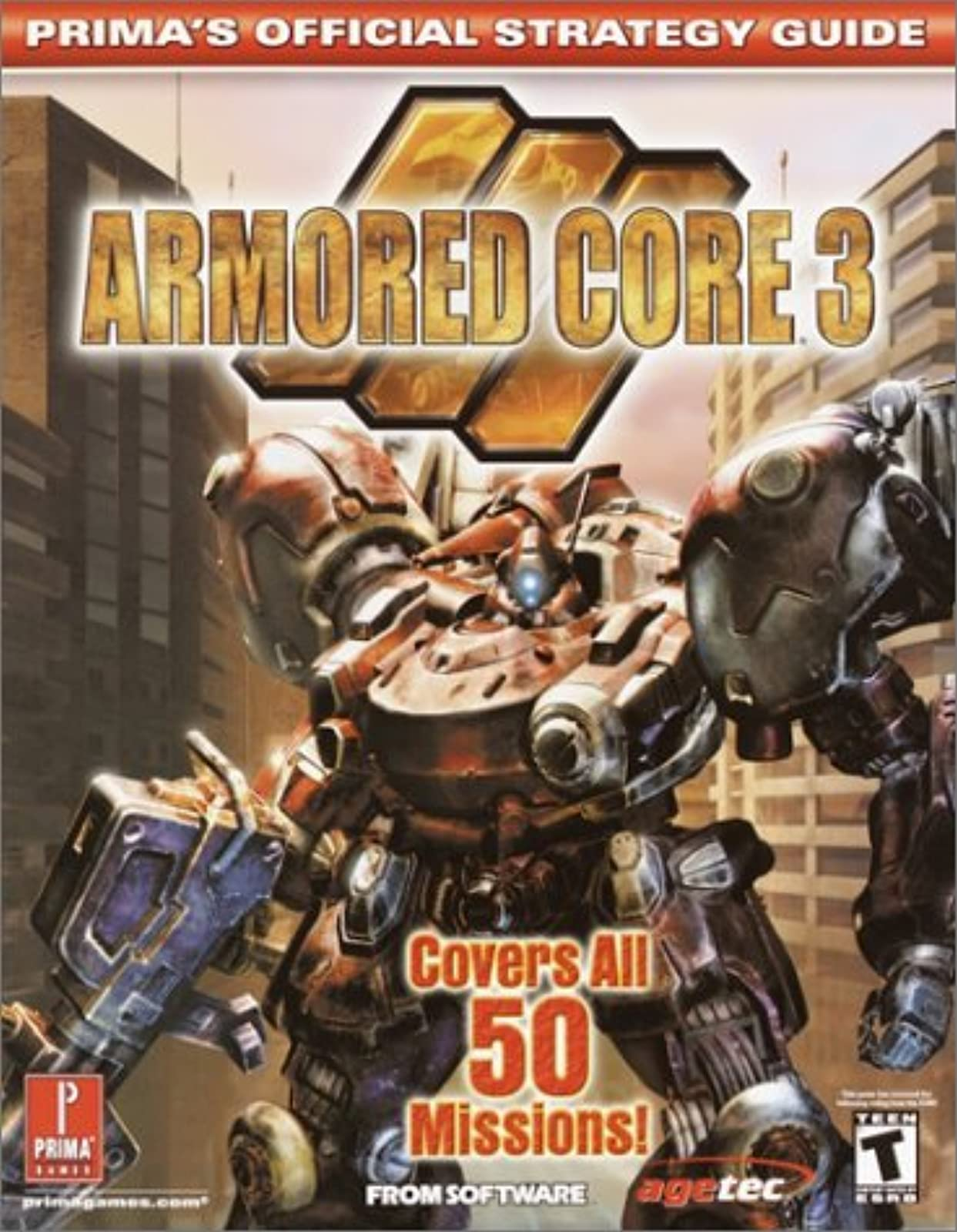 Armored Core 3 Prima's Official Strategy Guide