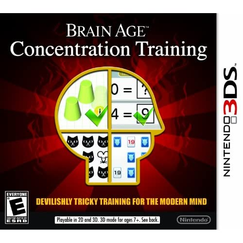 Brain Age: Concentration Training Nintendo For 3DS Puzzle