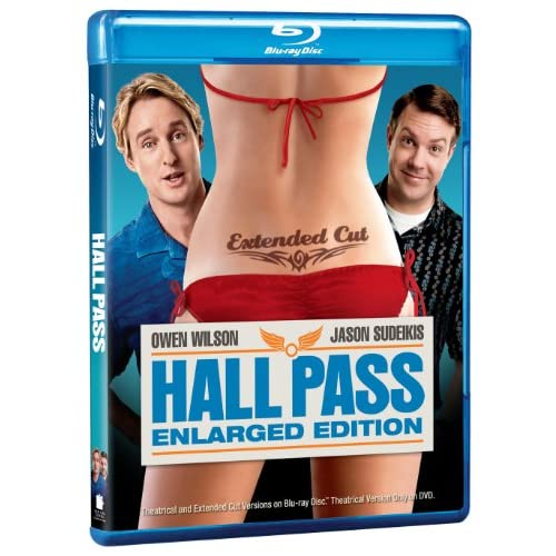 Hall Pass Extended Cut Blu-Ray On Blu-Ray With Owen Wilson Comedy