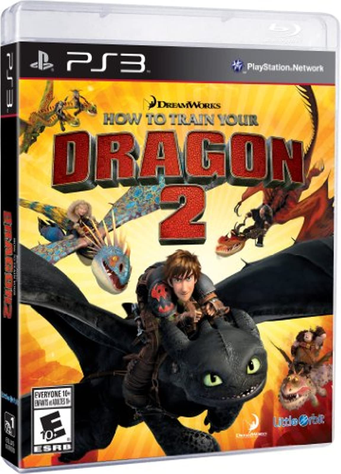 How To Train Your Dragon 2: The Video Game For PlayStation 3 PS3