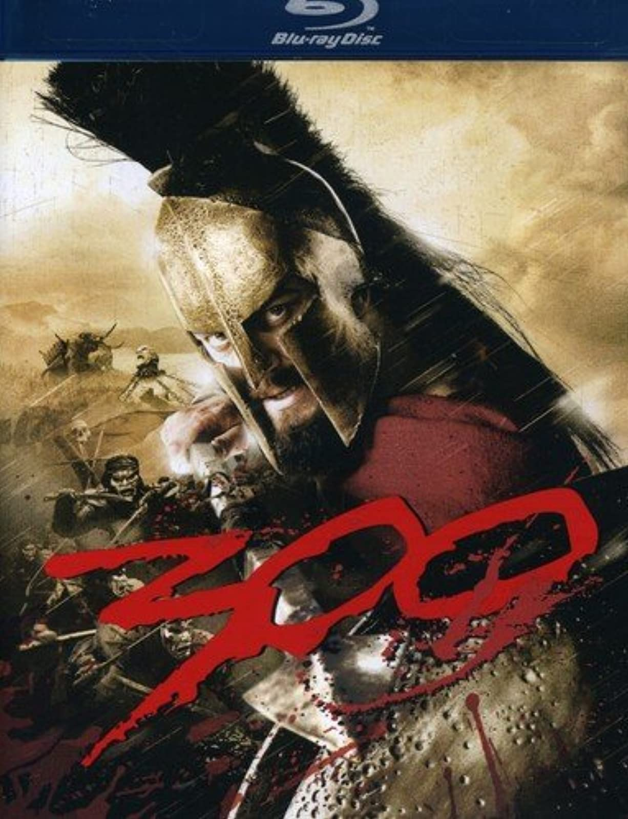 300 Blu-Ray On Blu-Ray With Gerard Butler