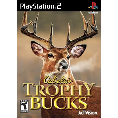 Cabela's Trophy Bucks For PlayStation 2 PS2 Shooter