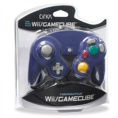 Controller For Nintendo GameCube Or Wii Indigo Purple