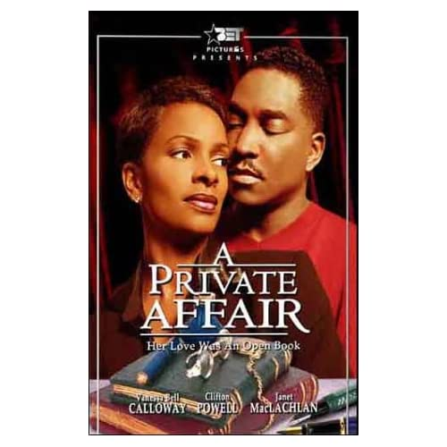 A Private Affair On DVD With Vanessa Bell Calloway