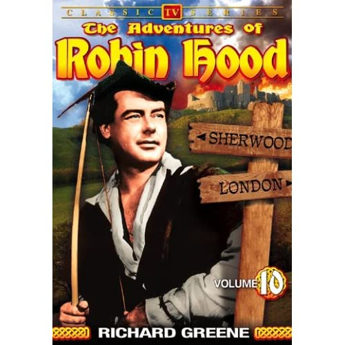 Image 0 of The Adventures Of Robin Hood Vol 10 On DVD With Richard Greene