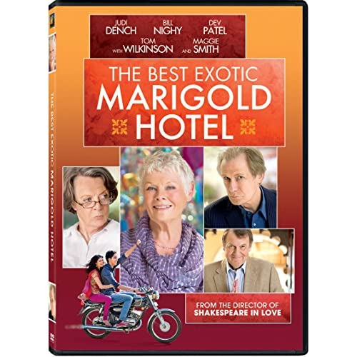 The Best Exotic Marigold Hotel On DVD With Maggie Smith