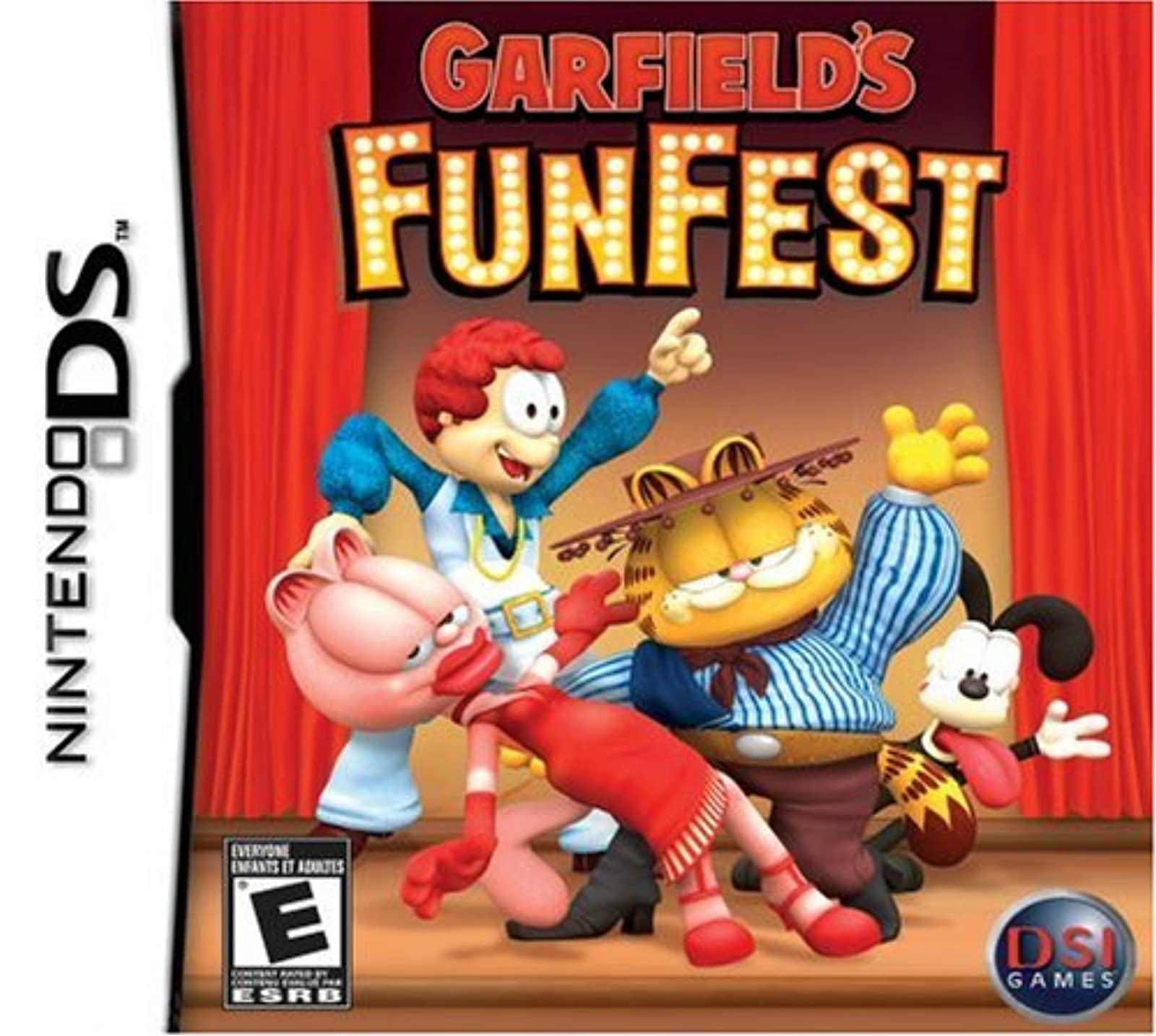 Garfield's Funfest For Nintendo DS DSi 3DS 2DS