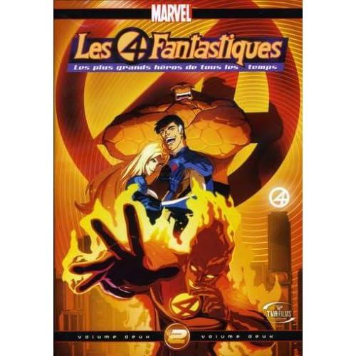 4 Fantastiques Vol 2 On DVD