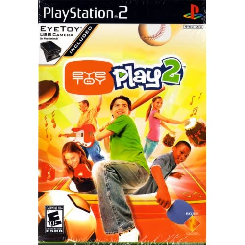 Eye Toy Play 2 Without Camera For PlayStation 2 PS2 Arcade