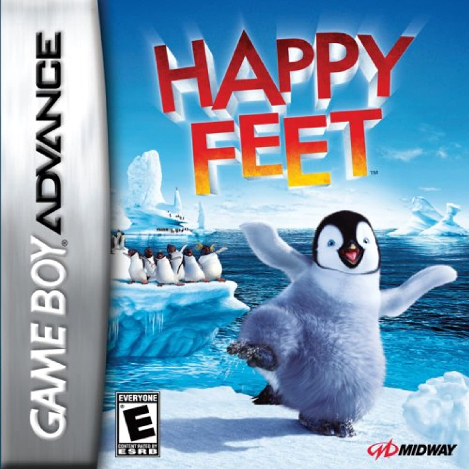 Happy Feet For GBA Gameboy Advance