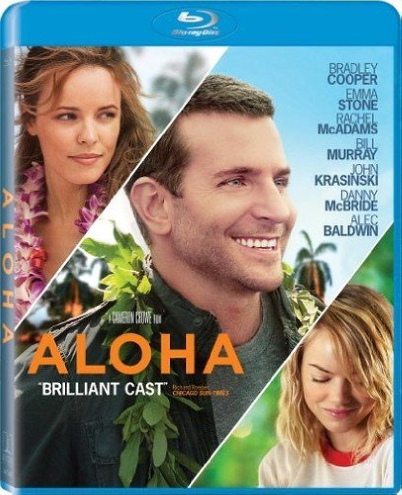 Aloha Blu-Ray On Blu-Ray With Bradley Cooper Comedy