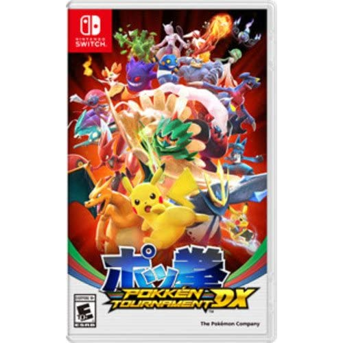 Pokken Tournament DX For Nintendo Switch Fighting