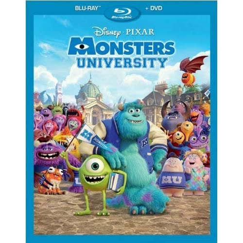 Monsters University Blu-Ray Combo Pack On Blu-Ray With Billy Crystal