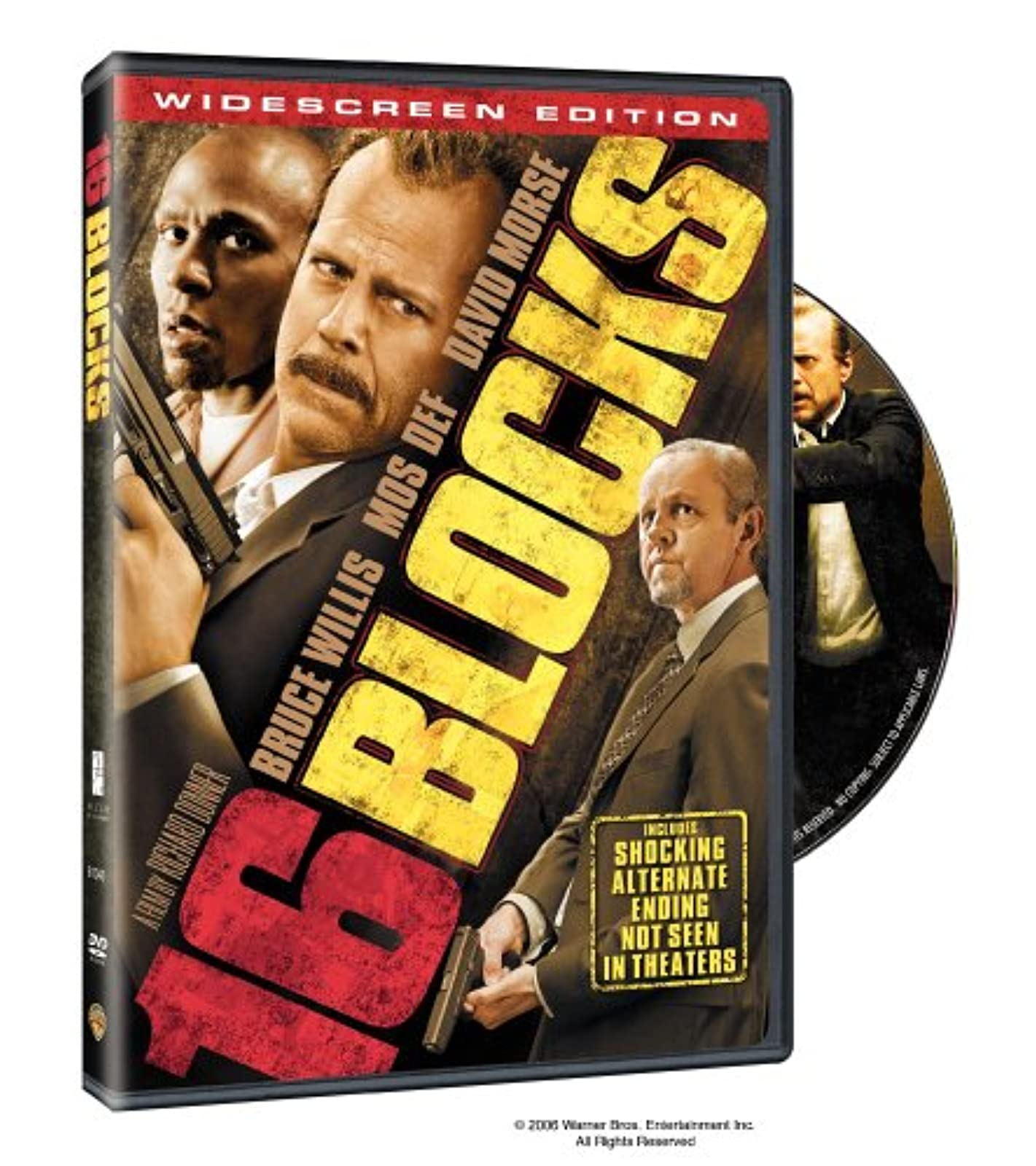 16 Blocks Widescreen Edition On DVD With Bruce Willis Drama