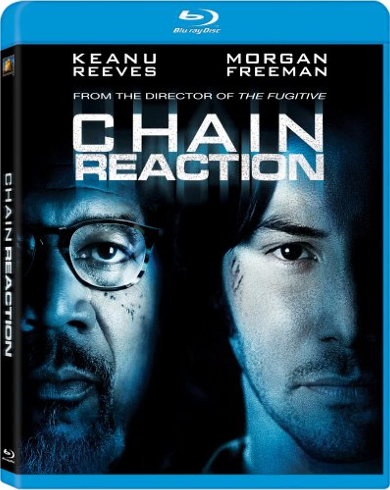 Chain Reaction Blu-Ray On Blu-Ray With Keanu Reeves