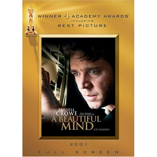 A Beautiful Mind Full Screen Awards Edition On DVD With Russell Crowe