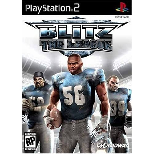 Blitz The League For PlayStation 2 PS2 Football