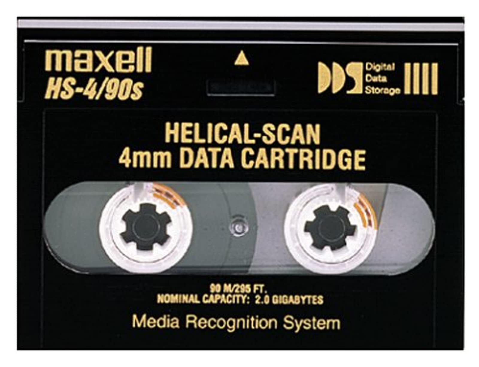 Maxell 2.0GB 91.5M HS-4/90S 4MM Data Cartridge For Helical Scan Drives