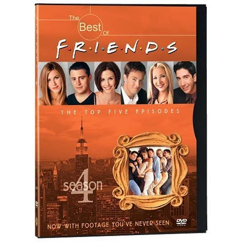 Image 0 of The Best Of Friends: Season 4 The Top 5 Episodes On DVD with Jennifer