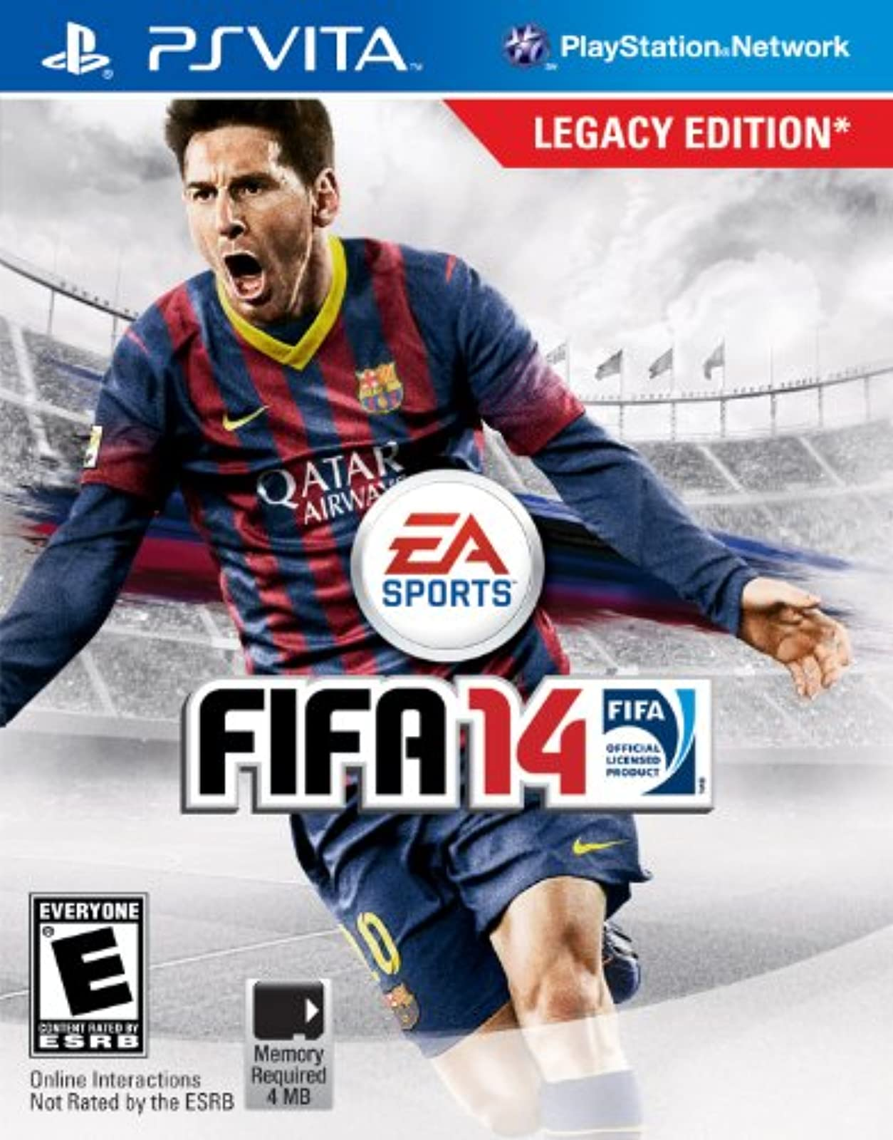 FIFA 14 Legacy Edition PlayStation Vita For Ps Vita Soccer