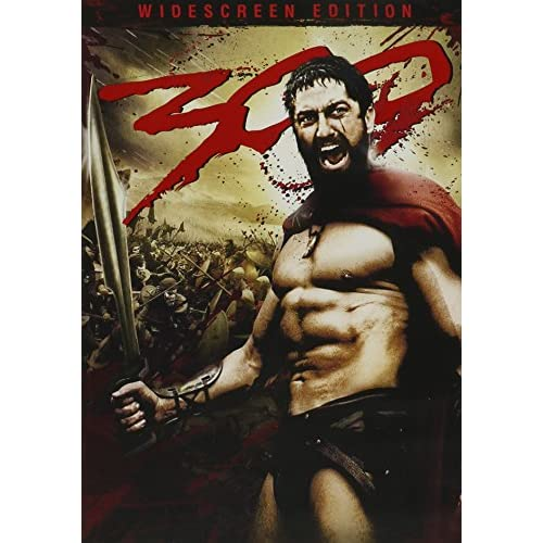 300 Single-Disc Widescreen Edition On DVD With Gerard Butler