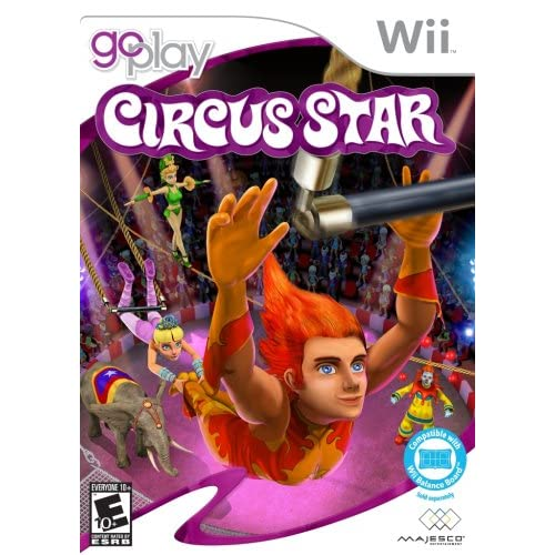 Go Play Circus Star For Wii And Wii U