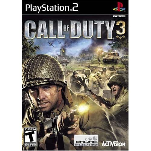 Call Of Duty 3 For PlayStation 2 PS2 COD Shooter