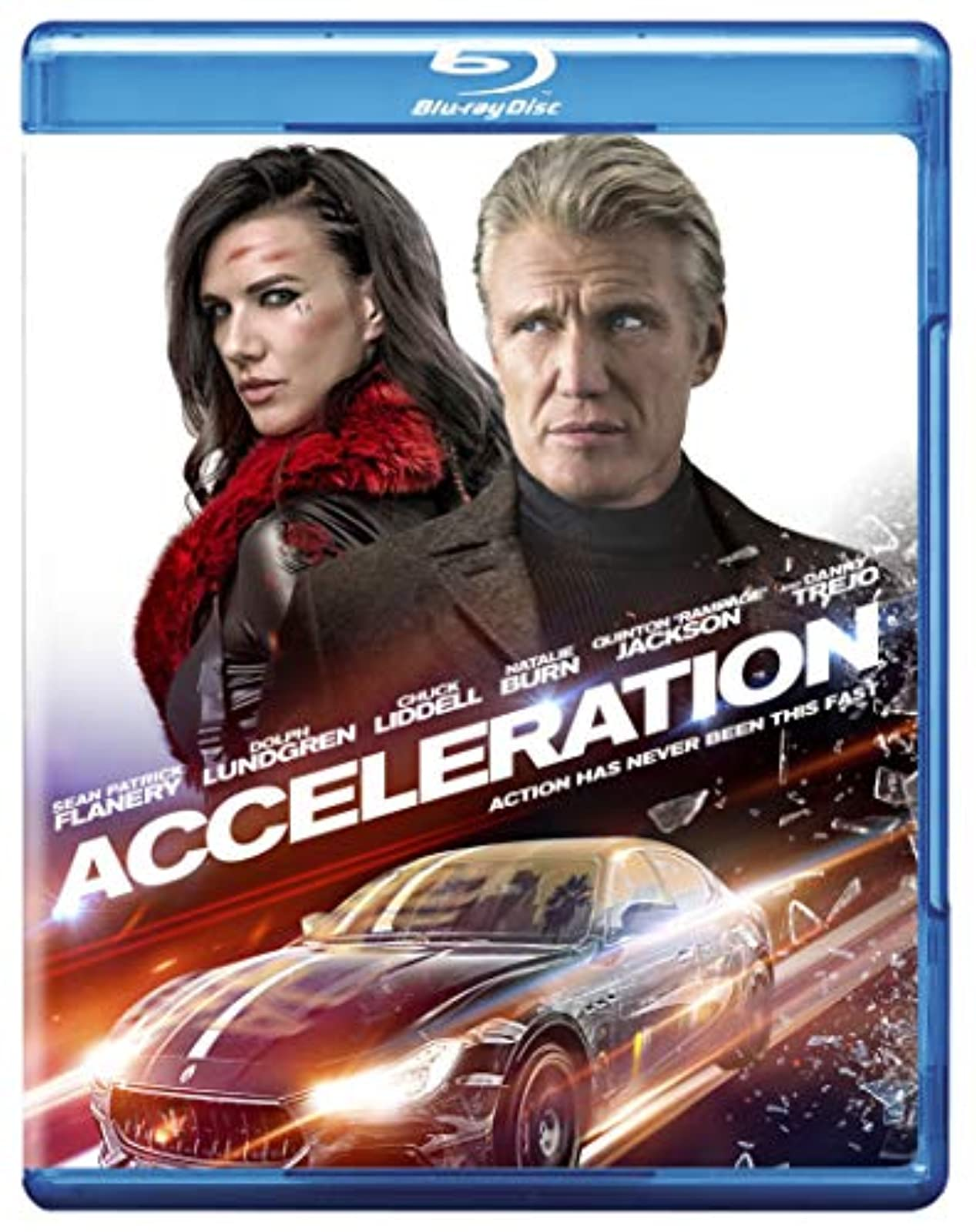 Acceleration Blu-Ray On Blu-Ray With Sean Patrick Flanery