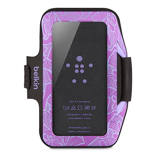 Image 2 of Belkin Armband Case For iPhone 5 5S SE 5C Purple