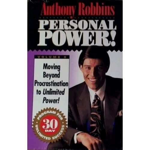 Anthony Robbins Personal Power! #6 Moving Beyond Procrastination To