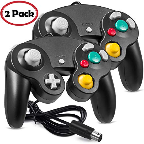 2 Pack Ngc Controller GC Classic Wired Controller Compatible With Wii