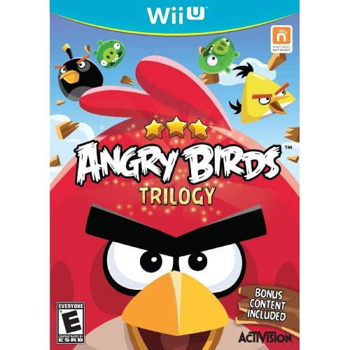 Angry Birds Trilogy For Wii U