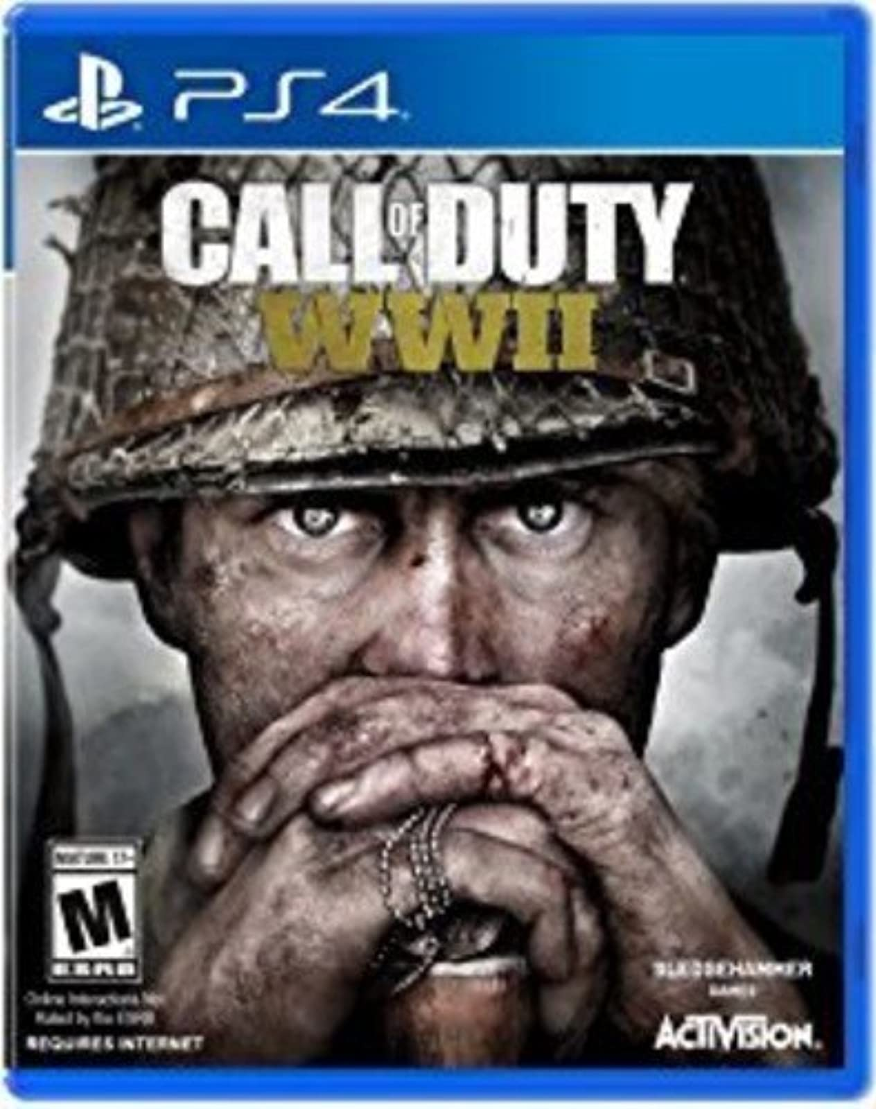 Call Of Duty: WWII Standard Edition For PlayStation 4 PS4 COD Shooter