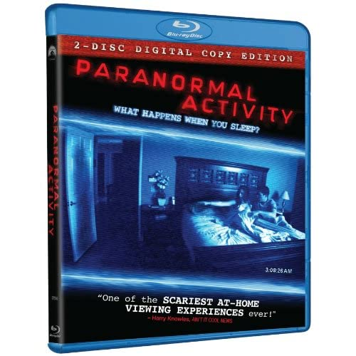 Image 0 of Paranormal Activity Two-Disc Edition Blu-Ray On Blu-Ray With Katie Featherston 2