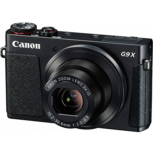 Canon Powershot G9 X Digital Camera With 3X Optical Zoom Built-In Wi-Fi And 3 In