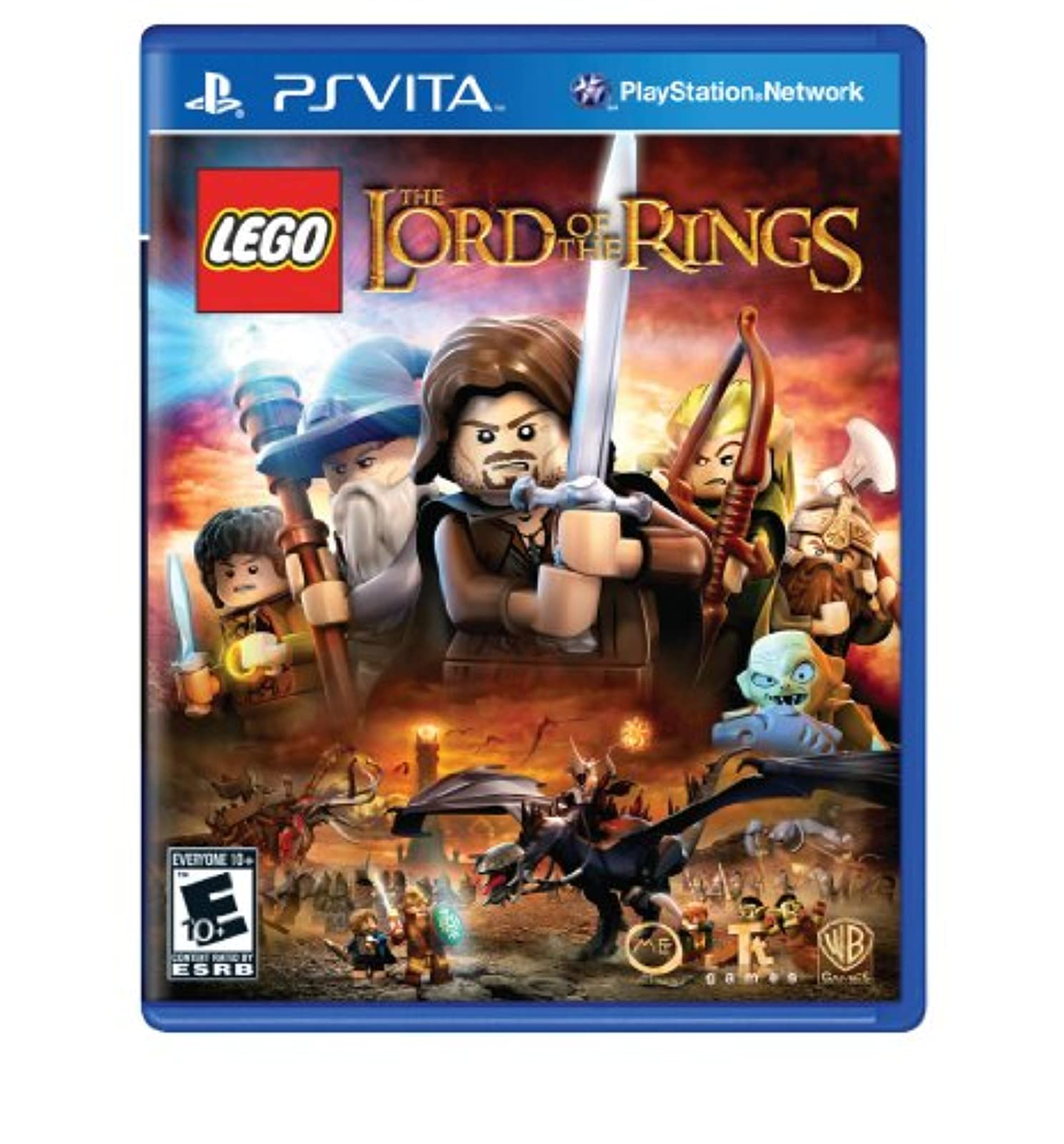 Lego Lord Of The Rings PlayStation Vita For Ps Vita