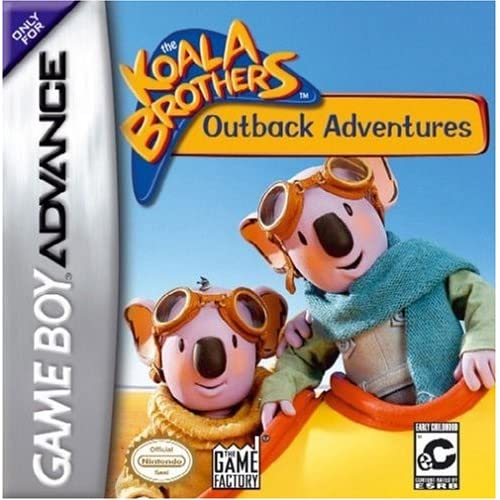 Koala Brothers: Outback Adventures For GBA Gameboy Advance