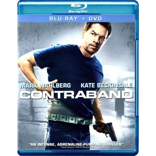 Contraband On Blu-Ray With Mark Wahlberg