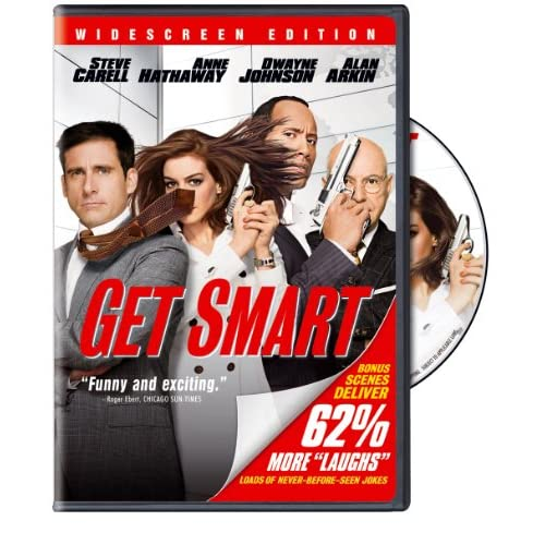Image 0 of Get Smart Single-Disc Widescreen Edition On DVD With Steve Carell