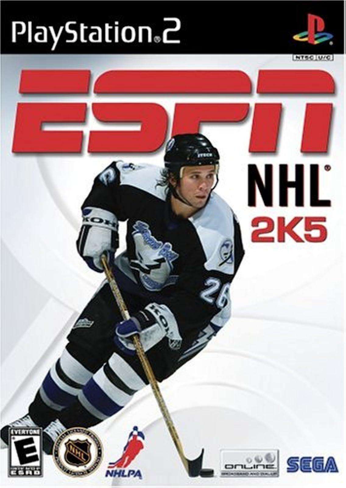 ESPN NHL 2K5 For PlayStation 2 PS2 Hockey