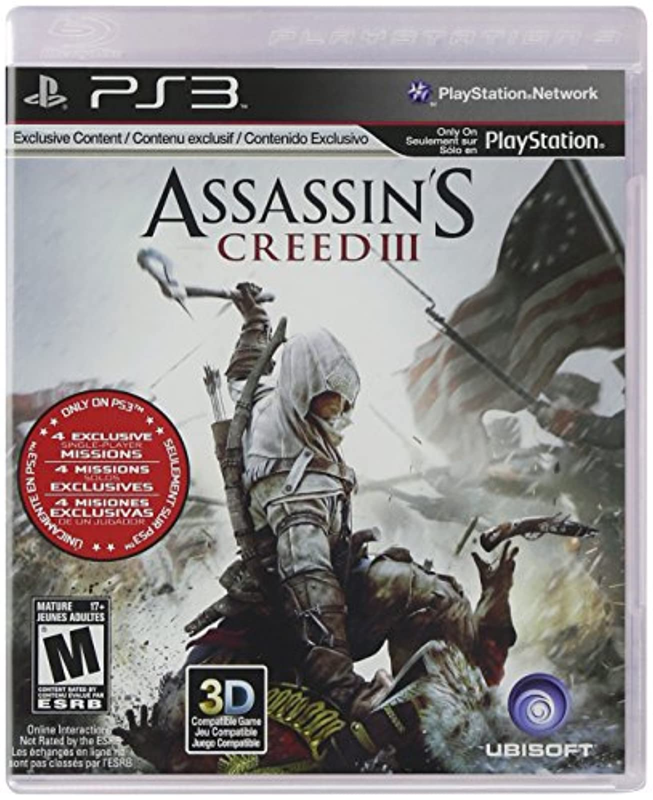 Assassin's Creed III Game For PlayStation 3 PS3