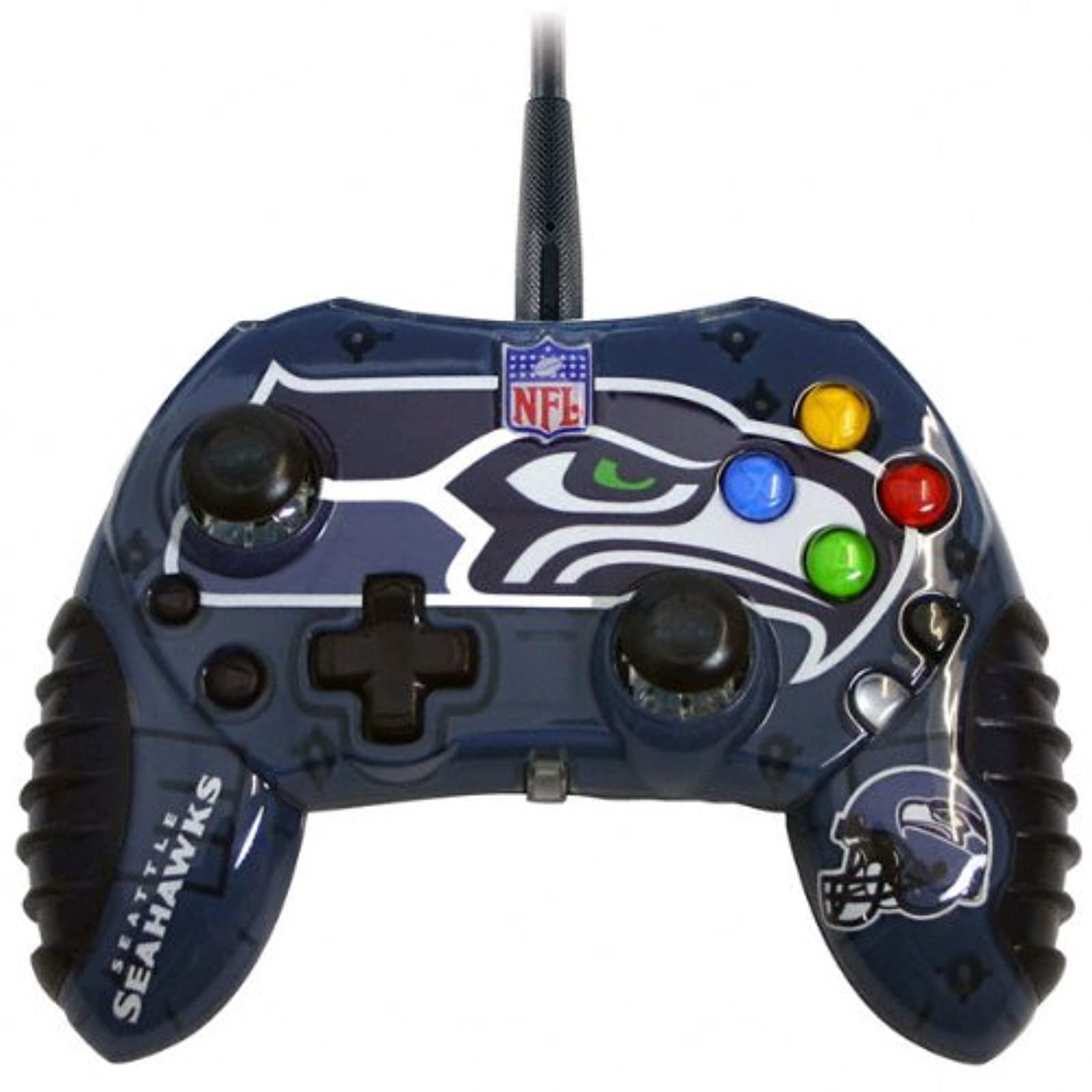 Mad Catz Seattle Seahawks Xbox Controller For Xbox 360