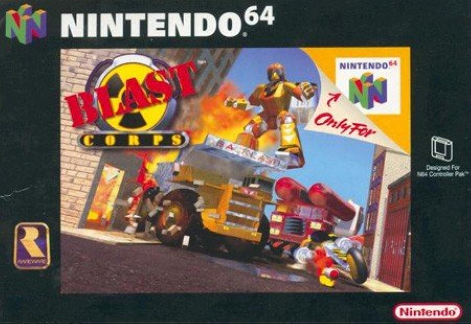 Blast Corps For N64 Nintendo