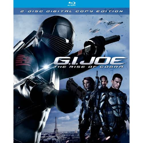 Gi Joe: The Rise Of Cobra Two-Disc Edition Blu-Ray On Blu-Ray With