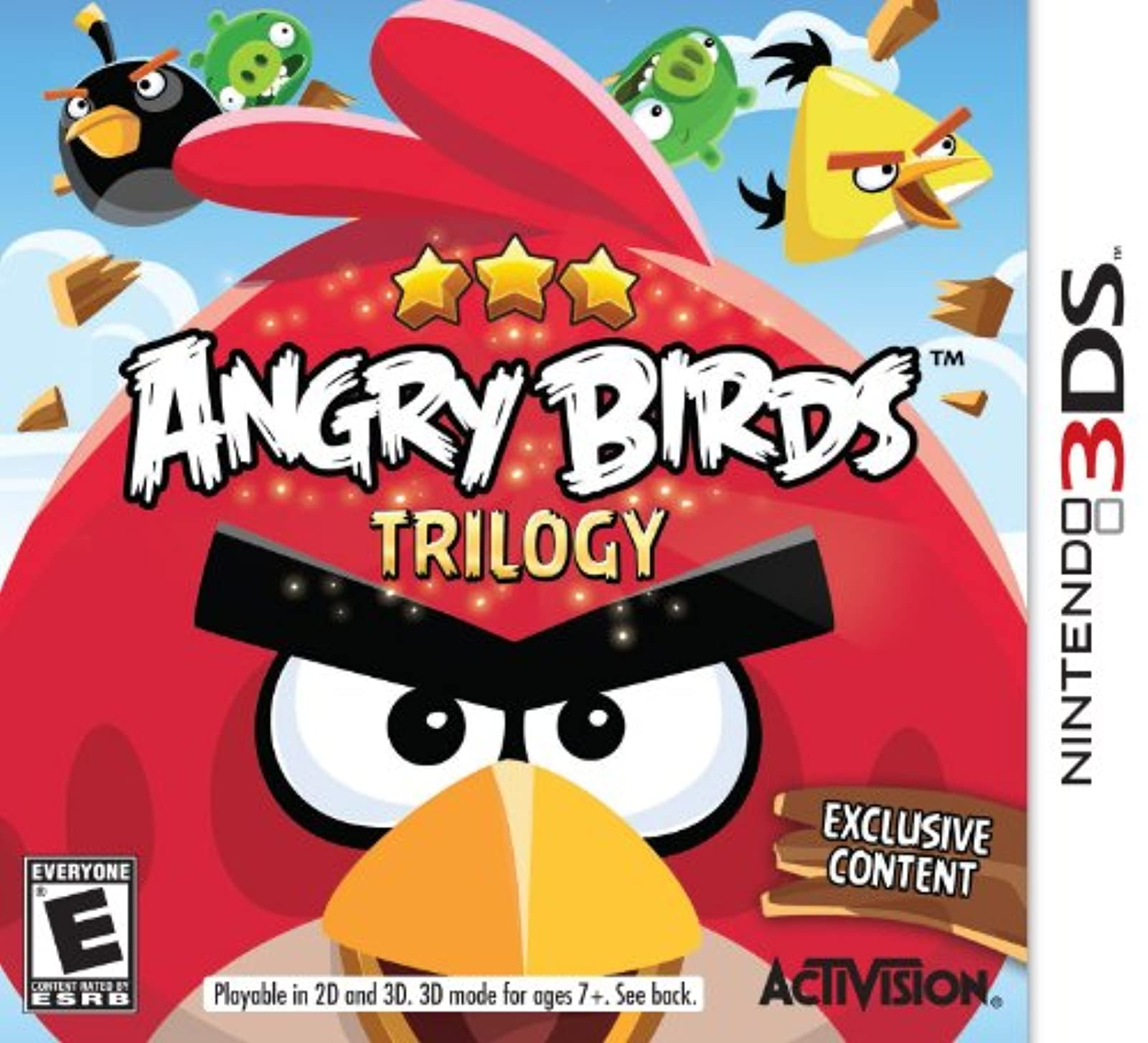 Angry Birds Trilogy Nintendo For 3DS Puzzle