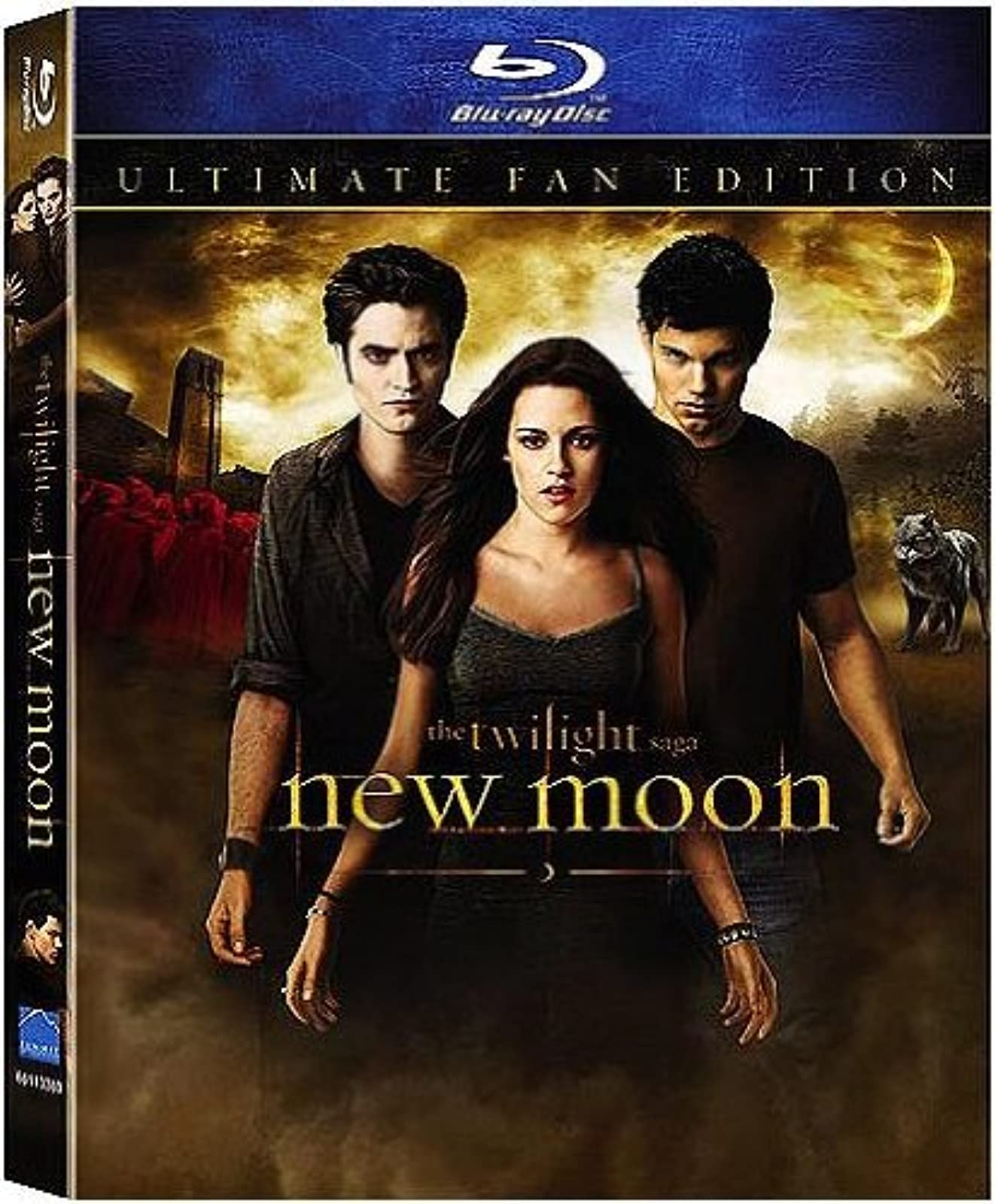 The Twilight Saga: New Moon Ultimate Fan Edition Blu-Ray With