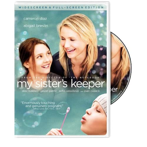 My Sister's Keeper On DVD with Cameron Diaz