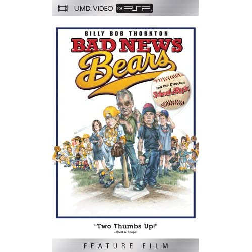 Bad News Bears UMD For PSP
