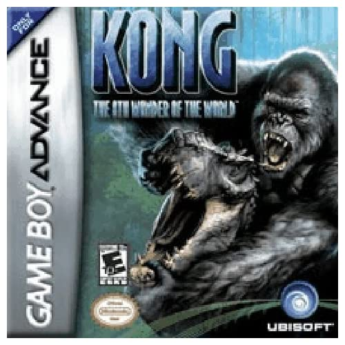 Kong: The 8th Wonder Of The World GBA For GBA Gameboy Advance