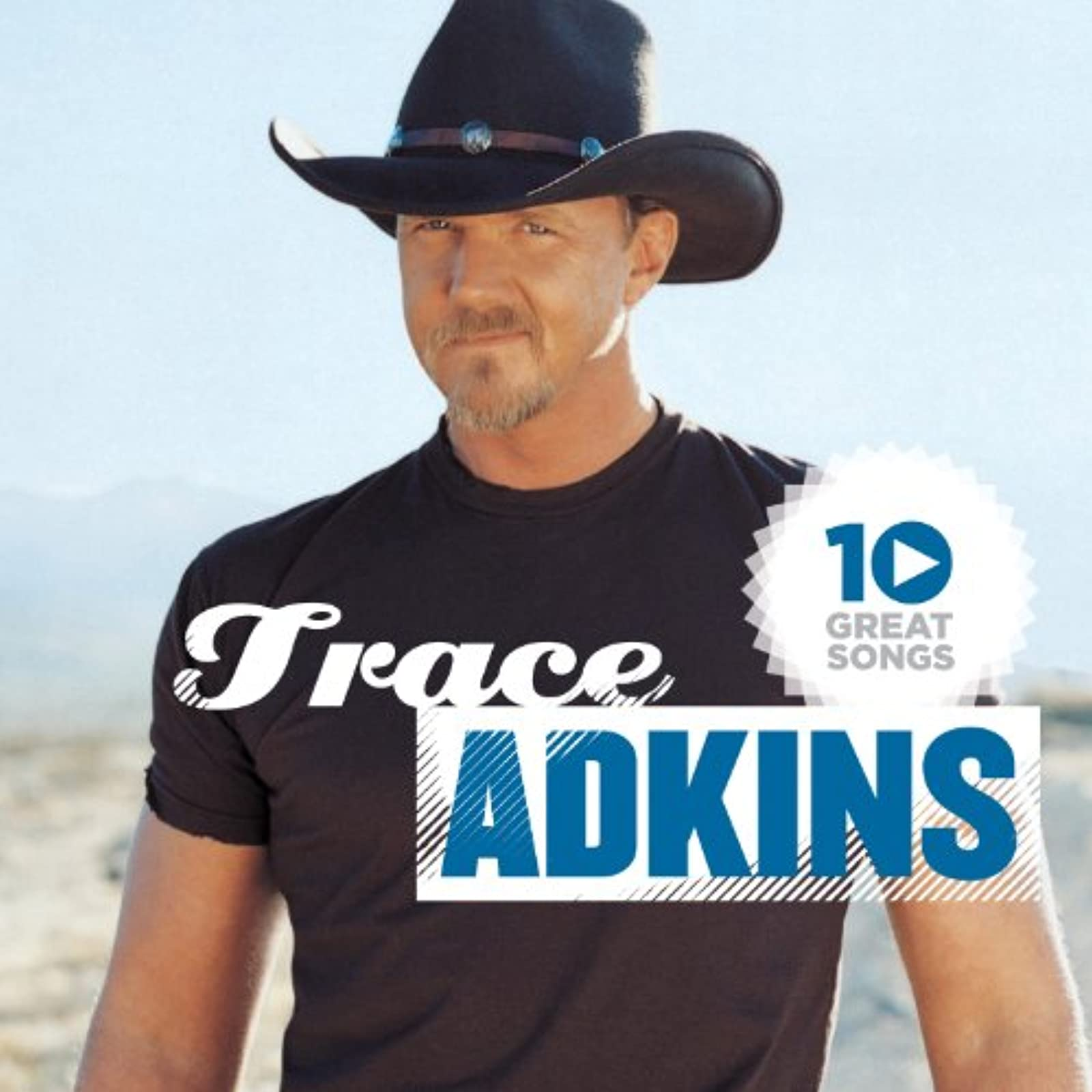 10 Great Songs By Trace Adkins On Audio CD Album 2012